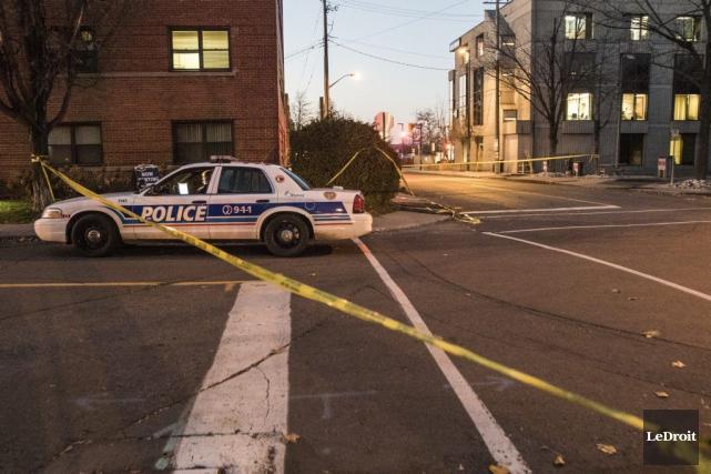 Le Service de police d'Ottawa (SPO) a eu du pain sur la planche samedi alors... (Patrick Woodbury, Archives LeDroit)