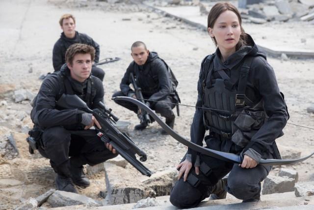 Hunger Games - La Révolte: dernière partiea engrangé... (Courtoisie)