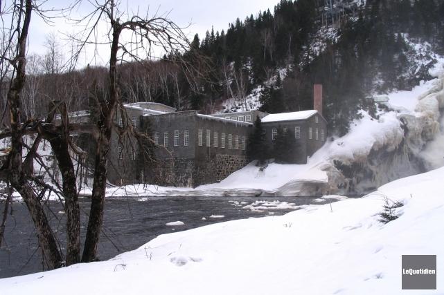 Le Village historique de Val-Jalbert en saison hivernale.... (Archives Le Quotidien)