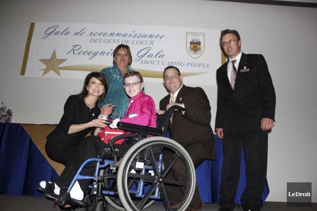 Jonathan Pitre a été honoré de deux prix... (Martin Brunette, LeDroit)