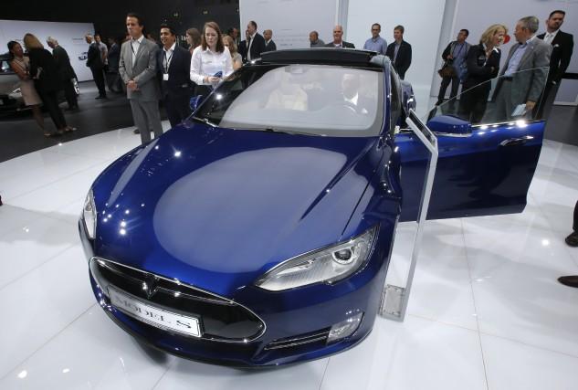 Environ 90 000 Model S de Tesla à... (AP, Michael Probst)