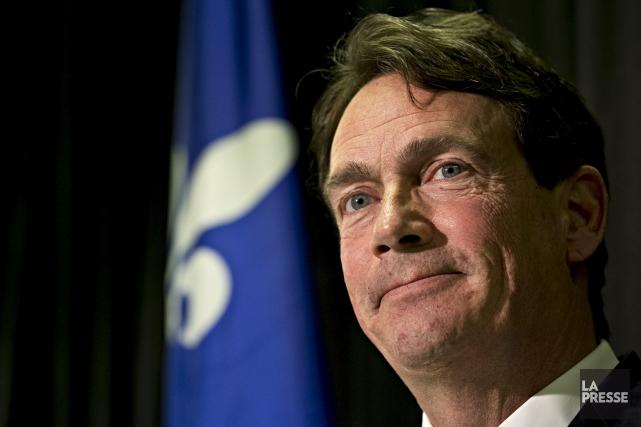 Le chef du Parti québécois, Pierre Karl Péladeau,... (La Presse archives, Patrick Sanfaçon)