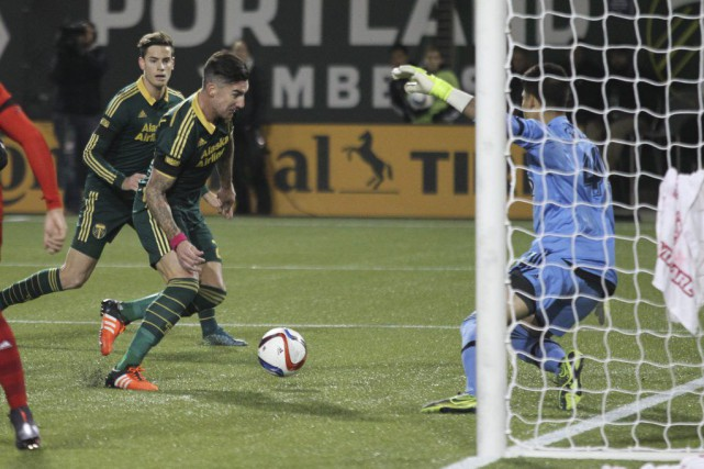 Liam Ridgewell a été l'auteur de l'un des... (Photo USA Today Sports)