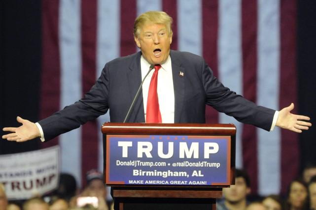 Certaines scènes que Donald Trump a décrites à... (PHOTO ARCHIVES AP)