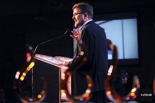 Le maire de Gatineau, Maxime Pedneaud-Jobin... (Etienne Ranger, LeDroit)