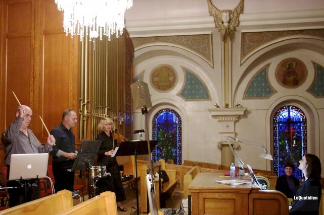 Le concert au profit du Havre de l'hospitalité... (Photo Le Quotidien, René Bouchard)