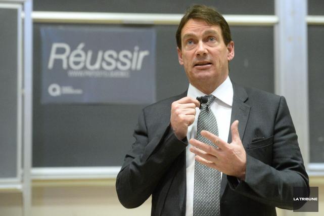 Le Chef du Parti québécois Pierre Karl Péladeau... (La Tribune archives, Maxime Picard)