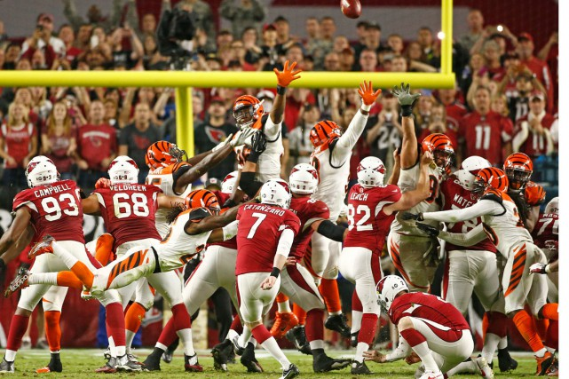 Chandler Catanzaro a procuré la victoire aux Cardinals... (Photo Rob Schumacher, AP)