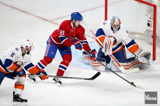 Relisez notre couverture du match du Canadien contre les Islanders de New York. (Photo Robert Skinner, La Presse)