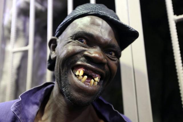 Mison Sere a remporté leconcours de l'homme le... (Photo Tsvangirayi Mukwazhi, AP)