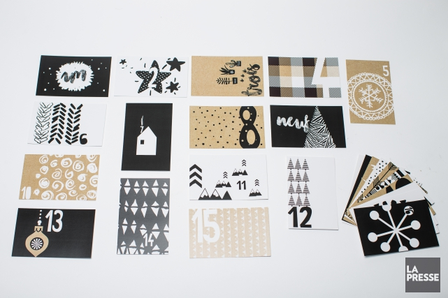 Sous forme de cartes postales, l'entreprise Les Belles... (PHOTO OLIVIER PONTBRIAND, LA PRESSE)
