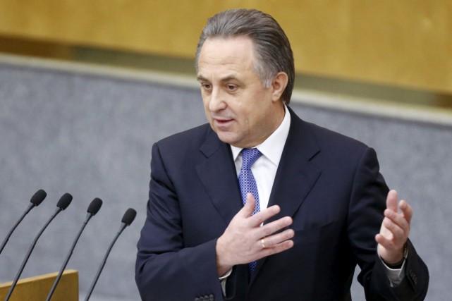 Le ministre russe des Sports, Vitali Moutko.... (Photo Sergei Karpukhin, archives Reuters)