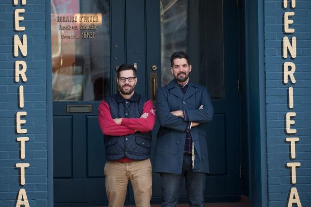 Le chef Éric Dupuis (à gauche) de la... (PHOTO IVANOH DEMERS, LA PRESSE)