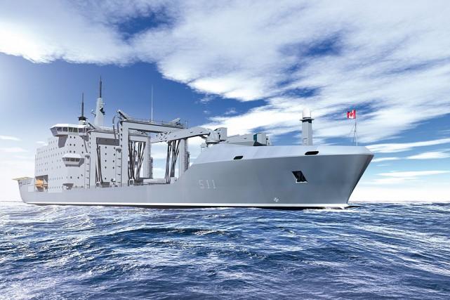 Dans le contexte du Projet Resolve, la Marine... (Fournie par Chantier Davie)