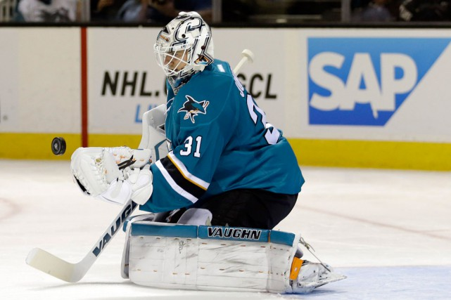 Martin Jones... (Photo Ben Margot, AP)