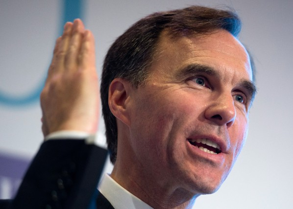 « C'est, pour le ministre des Finances Bill Morneau,... (PHOTO SEAN KILPATRICK, LA PRESSE CANADIENNE)