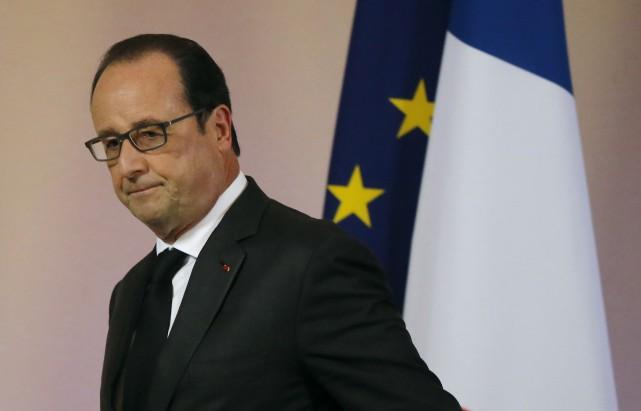 «Le président Hollande est en guerre contre les... (Photo Michel Euler, Agence France-Presse)