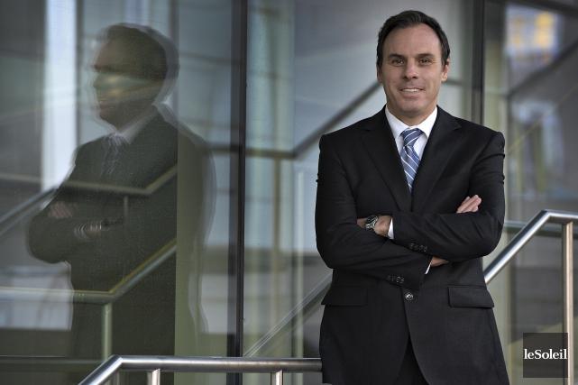 Steven Ross, coprésident de la campagne de financement... (Le Soleil, Patrice Laroche)