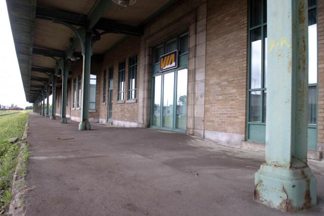 La gare de Trois-Rivières... (François Gervais, archives)