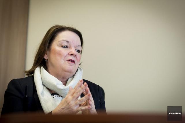 Selon Patricia Gauthier, présidente-directrice générale, on commencera par... (Jessica Garneau, La Tribune)