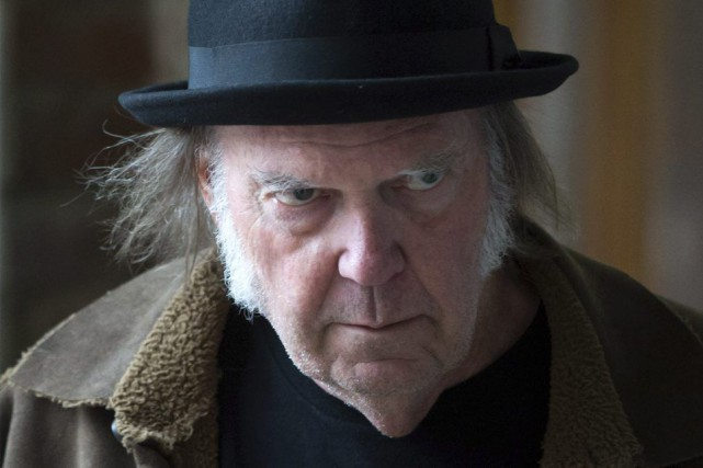 Neil Young souhaite que Justin Trudeau et son... (Photo La Presse Canadienne)