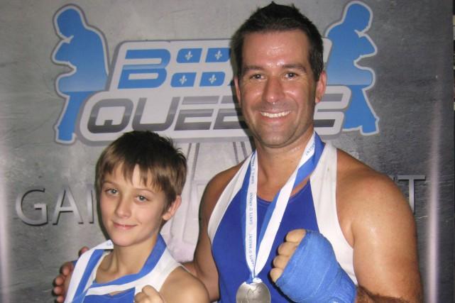 Antoine Duchemin et son père, Stéphane ont été... (Courtoisie)