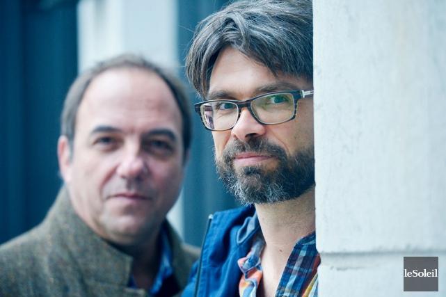 Denis Bernard (àgauche), directeur artistique du Théâtre de... (Le Soleil, Jean-Marie Villeneuve)