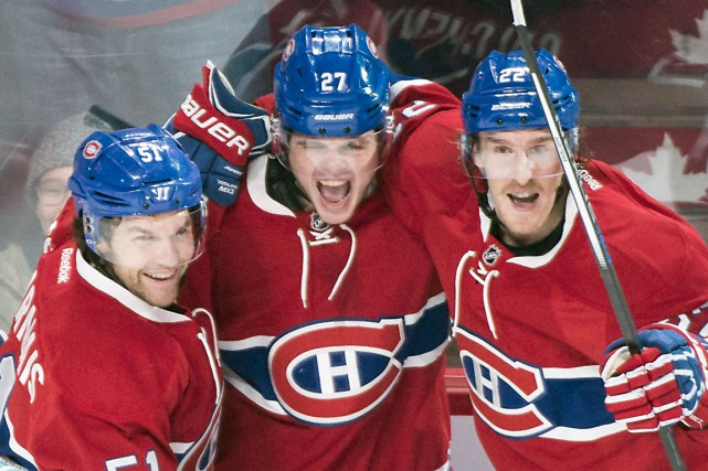 Sur la glace, le Tricolore présente un visage... (La Presse Canadienne)