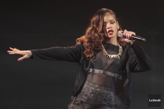 Rihanna amorcera une tournée mondiale en 2016.... (Étienne Ranger, archives Le Droit)