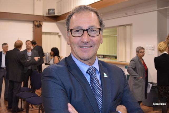 Le maire de Dolbeau-Mistassini, Richard Hébert, s'est réjoui... (Photo Le Quotidien, Louis Potvin)