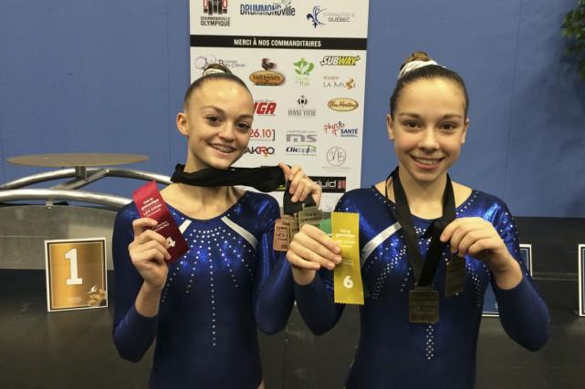 Rachel Boisvert et Marilie Noël ont savouré l'or...