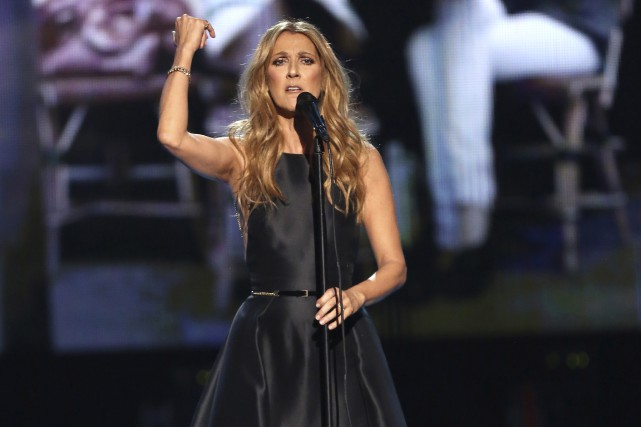 Céline Dion a également fait ses adieux jeudi... (Archives La Presse Canadienne, Matt Sayles)
