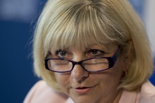 La présidente de la Fédération des commissions scolaires... (Archives La Presse canadienne)