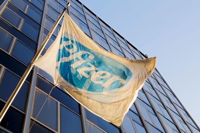 Pfizer conservera son siège social à New York.... (Archives AP)