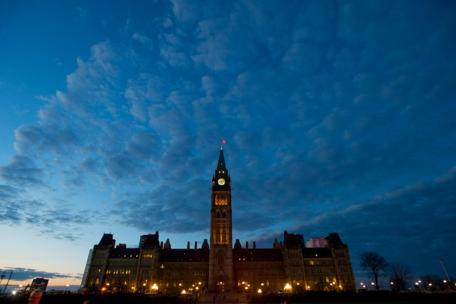 La fin de la campagne électorale signe la... (PHOTO SEAN KILPATRICK, ARCHIVES LA PRESSE CANADIENNE)
