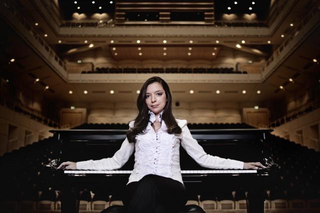Invitée par l'OSM, la pianiste russe Yulianna Avdeeva... (PHOTO HARALD HOFFMANN, FOURNIE PAR L'ARTISTE)