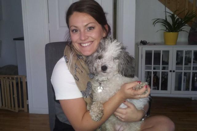 Julie Villeneuve a accueilli la petite Rosie, une... (Photo fournie)