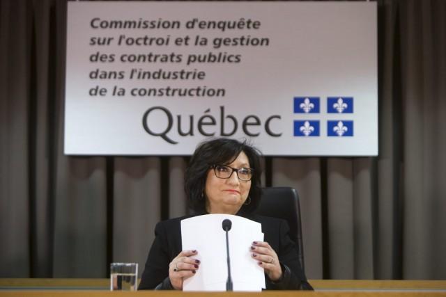La présidente de la CEIC, France Charbonneau.... (Robert Skinner, La Presse)