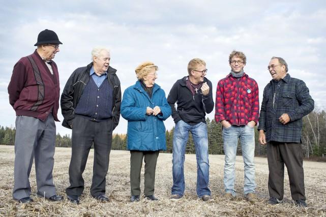 Les personnages que nous découvrirons dans Saint-Élie-de-Légendes Léo,... (Fournie par ICI Radio-Canada Télé)