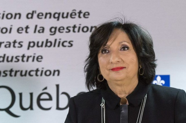 La juge France Charbonneau a dévoilé son rapport... (Photo Paul Chiasson, La Presse Canadienne)