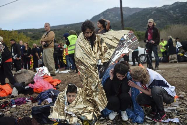 Environ 2100 réfugiés supplémentaires s'ajouteront dans le cadre... (Photo AFP)