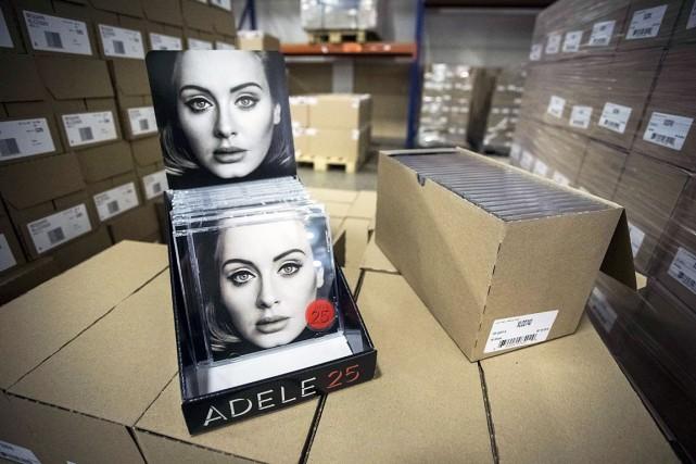 En quatre jours, Adele a fracassé le record... (AFP, Alexander Schippers)