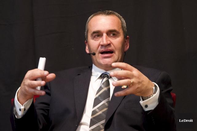 Le maire Benoît Lauzon s'attend à une hausse... (Martin Roy, LeDroit)