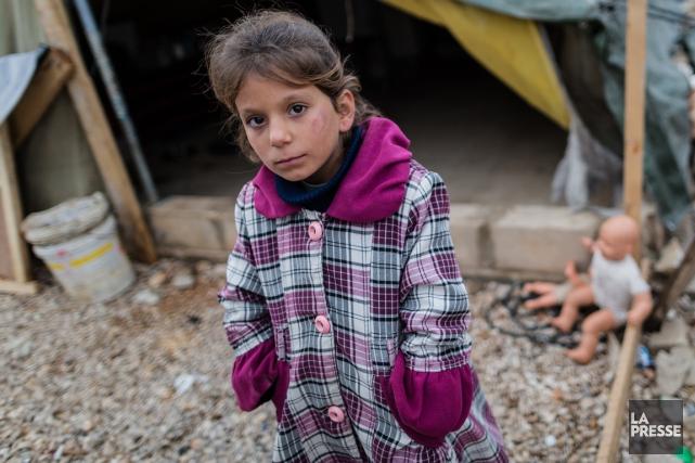 Un camp de réfugiés au Liban.... (La Presse)