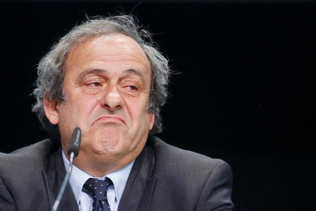 Michel Platini purge actuellement une suspension de 90... (Archives Associated Press)