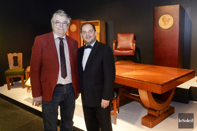 Pierre Wilson et Stéphan La Roche, respectivement directeur... (Le Soleil, Jean-Marie Villeneuve)