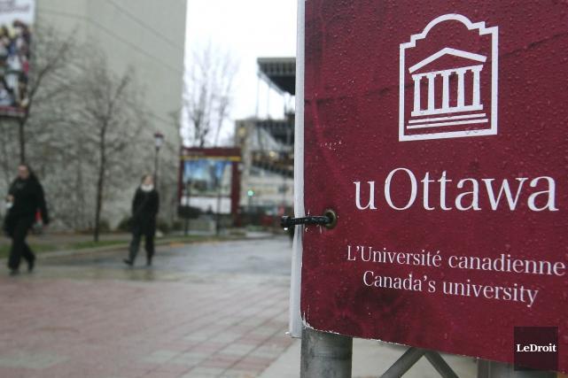L'Université d'Ottawa a fait une déclaration sur un incident nébuleux ayant... (Patrick Woodbury, Archives LeDroit)