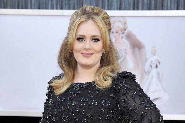 Le précédent album d'Adele s'était écoulé à plus... (Archives Associated Press)