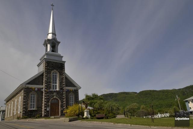 Comme l'église d'Hébertville, celle de L'Anse-Saint-Jean bénéficiera de... (Archives Le Quotidien, Rocket Lavoie)