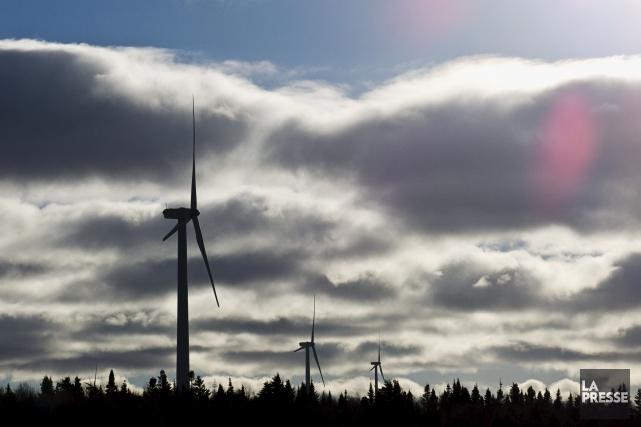 Deux projets de parcs éoliens dans la municipalité... (Hugo-Sébastien Aubert, Archives La Presse)
